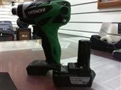 HITACHI Cordless Drill WH10DL with One Battery